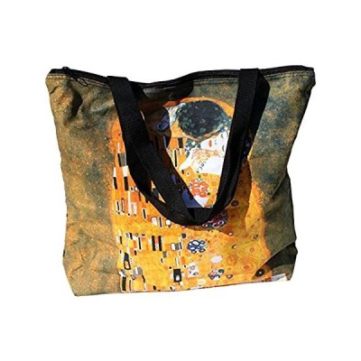 RaanPahMuang Large Shopping Tote Bag The KISS Print Gustav Klimt好評販売中