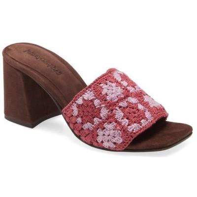 ジェフリー キャンベル レディース ヒール シューズ Jeffrey Campbell Mixup Block Heel Slide Sandal (Women)