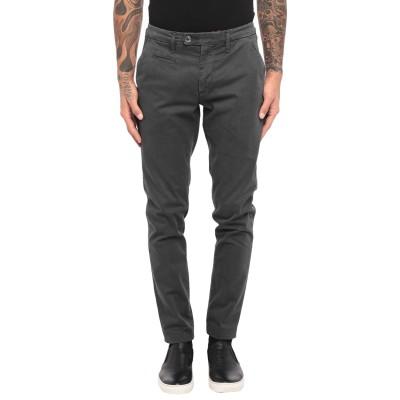 LIU •JO MAN パンツ スチールグレー 44 コットン 98% / ポリウレタン 2% パンツ