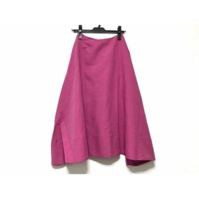 フレイアイディー FRAY I.D ロングスカート サイズ0 XS レディース ピンク【中古】20200526