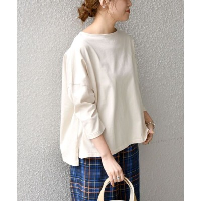 SHIPS for women / SHIPS any: FOOD TEXTILE スクエア プルオーバー◆ WOMEN トップス > Tシャツ/カットソー
