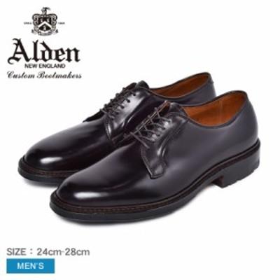 オールデン ALDEN ドレスシューズ メンズ 靴 シューズ 革靴 黒 ビジネスシューズ COMMANDO OUTSOLE CORDOVAN 990C