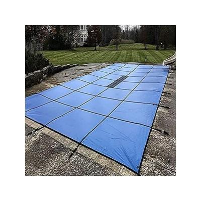送料無料 YXX- Outdoor Winter Pool Safety Covers for In-Ground Swimming Pools, Blue,