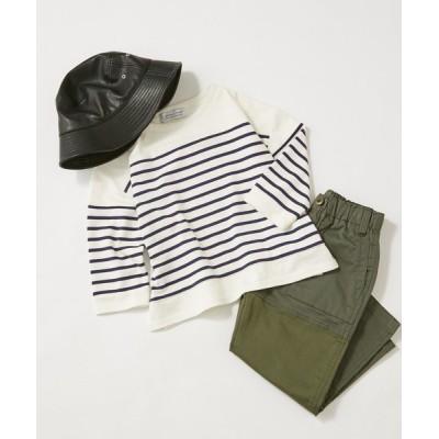 CIAOPANIC TYPY / 【KIDS】パネルボーダー切り替えTEE KIDS トップス > Tシャツ/カットソー