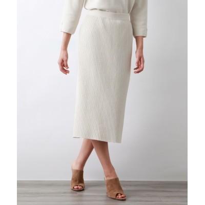 AMACA / スポンディッシュコットンニットスカート WOMEN スカート > スカート