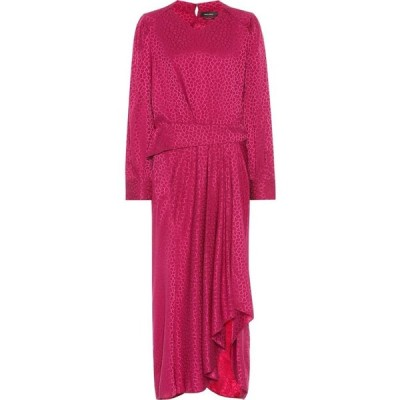 イザベル マラン Isabel Marant レディース ワンピース ワンピース・ドレス romina stretch-silk dress Fuchsia