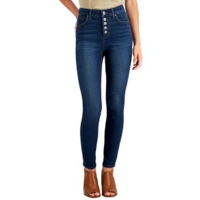 スタイルアンドコー レディース デニムパンツ ボトムス Button-Fly High Rise Skinny Ankle Jeans, Created for Macy's Hayes