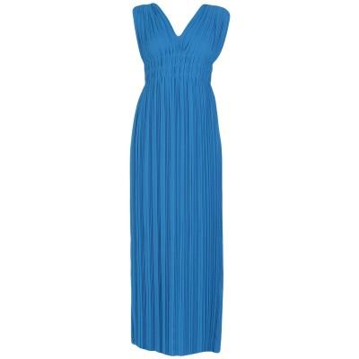 パロッシュ P.A.R.O.S.H. ロングワンピース&ドレス ブライトブルー XS ポリエステル 100% ロングワンピース&ドレス