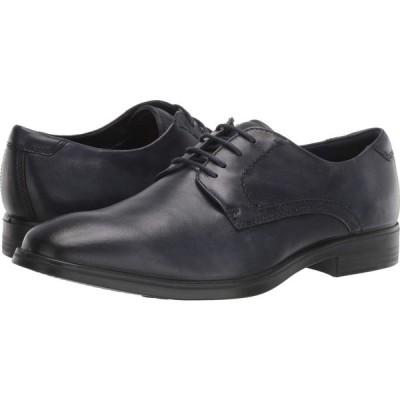 エコー ECCO メンズ 革靴・ビジネスシューズ シューズ・靴 Melbourne Tie Denim Blue