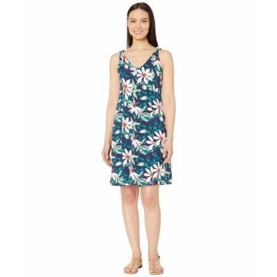 ロイヤルロビンズ ワンピース トップス レディース Essential Tencel Twist Dress Ink Blue Print