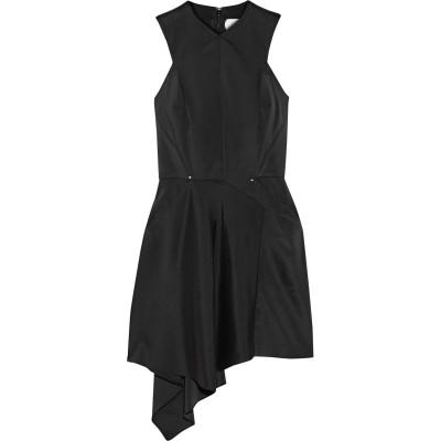 エステバン コルタサル ESTEBAN CORTAZAR ミニワンピース&ドレス ブラック 38 アセテート 71% / ナイロン 24% / ポリ