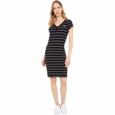 ヴァンズ Vans レディース ワンピース ミドル丈 ワンピース・ドレス Ally Stripe Midi Dress Black