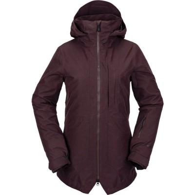 ボルコム Volcom レディース ジャケット アウター iris 3-in-1 gore-tex jacket Black Red