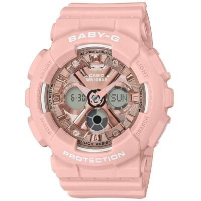 カシオ 腕時計 レディース キッズ ベビーG アナデジ 防水 ピンク ba-130-4a CASIO BABY-G 時計 ウォッチ