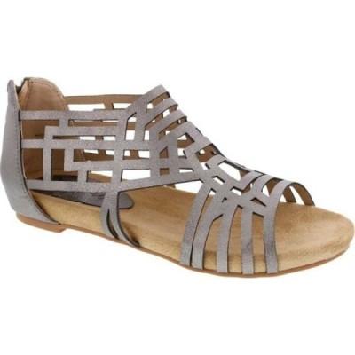 ベリーニ Bellini レディース サンダル・ミュール シューズ・靴 Nazareth Laser Cut Sandal Pewter