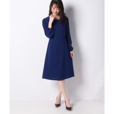 MISS J / ミス ジェイ スポンジージョーゼットドレス