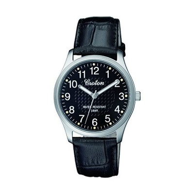 [クロトン] 腕時計 RT-157M-1 メンズ ブラック