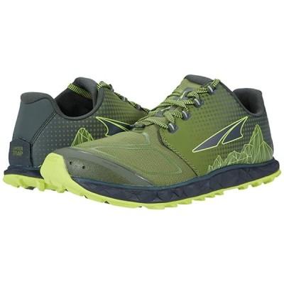 Altra Footwear Superior 4.5 メンズ スニーカー 靴 シューズ Geen/Lime