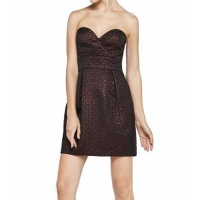 ファッション ドレス BCBG Generation NEW Black Women Size 8 Metallic Textured A-Line Dress
