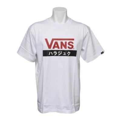 【VANS】 ヴァンズ HARAJUKU S/S TEE ショートスリーブ VANS-HRABC WHITE L ホワイト