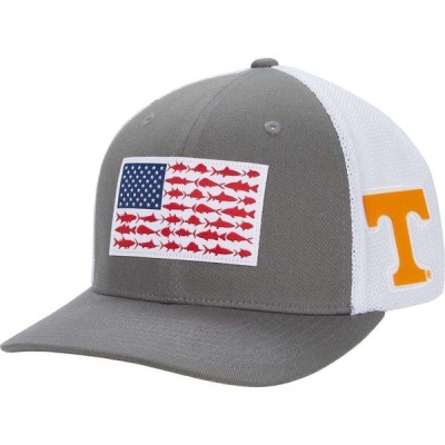 コロンビア Columbia College レディース キャップ 帽子 Tennessee Volunteers PFG Mesh(TM) Fish Flag Ball Cap UT Titanium