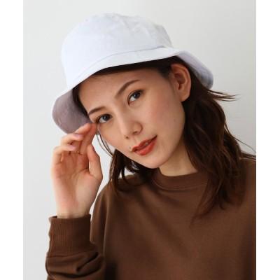 BASESTATION / ベーシック コットンツイル素材 バケットハット WOMEN 帽子 > ハット