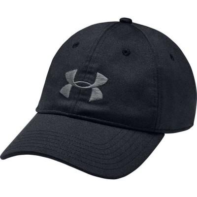 アンダーアーマー Under Armour メンズ キャップ 帽子 Twist Adjustable Hat Black Light Heather/Black