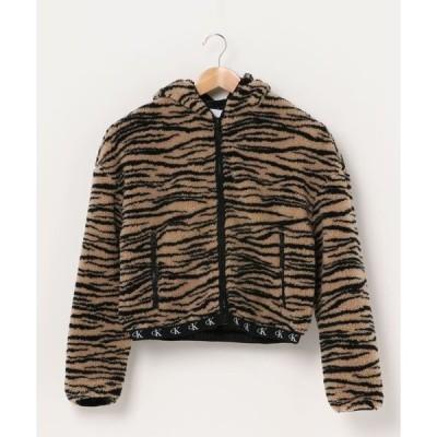 ジャケット ブルゾン ゼブラ シェルパジャケット