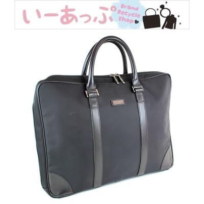 バーバリー トートバッグ ビジネスバッグ 書類かばん ブラックレーベル 黒 極美品 j137