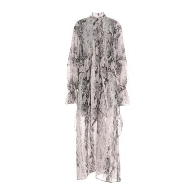 NA-KD ロングワンピース&ドレス ライトグレー 36 ポリエステル 100% ロングワンピース&ドレス