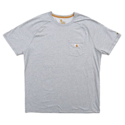 カーハート ワンポイントロゴ Tシャツ グレー サイズ表記:XL TALL