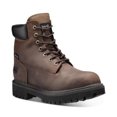 ティンバーランド メンズ ブーツ・レインブーツ シューズ Men's Direct Attach PRO 6 Steel Toe Insulated Boots