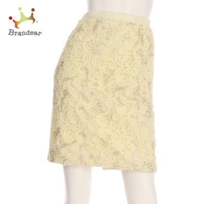 ジャスグリッティー JUSGLITTY スカート サイズM レディース 美品 ホワイト系 タイトスカート 新着 20210130