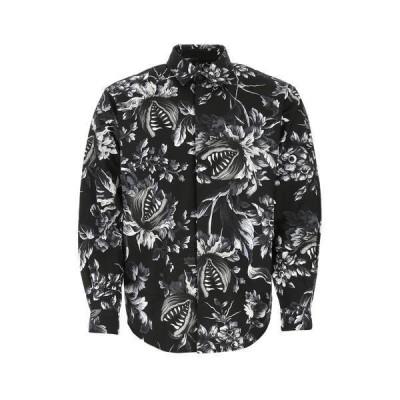 エムエスジイエム メンズ シャツ トップス MSGM Floral Print Shirt -