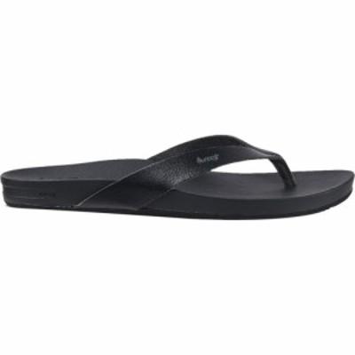 リーフ Reef レディース ビーチサンダル シューズ・靴 Cushion Bounce Court Flip Flop Black