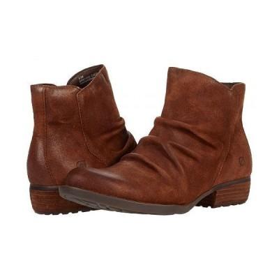 Born ボーン レディース 女性用 シューズ 靴 ブーツ アンクル ショートブーツ Falco - Rust Distressed