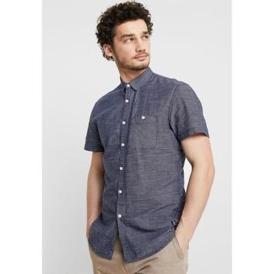 トムテイラーデニム シャツ メンズ トップス Shirt - blue