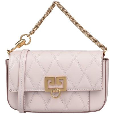 ジバンシィ GIVENCHY メッセンジャーバッグ ライトピンク 山羊革 100% メッセンジャーバッグ