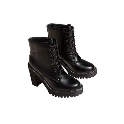 Madden Girl レディース Archiee ファッションブーツ US サイズ: 7 カラー: ブラック【並行輸入品】