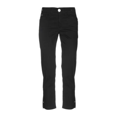 MARANI JEANS パンツ ブラック 38 コットン 74% / ナイロン 23% / ポリウレタン 3% パンツ