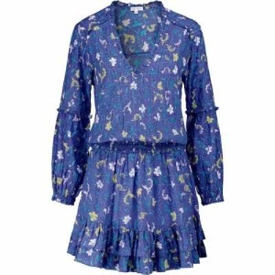 プーペット セント バース Poupette St Barth レディース ワンピース ミニ丈 ワンピース・ドレス Ilonia floral minidress Royal Clary