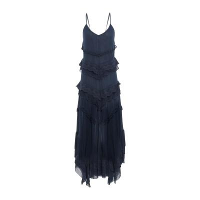 アニヤバイ ANIYE BY ロングワンピース&ドレス ダークブルー S 100% レーヨン コットン ロングワンピース&ドレス