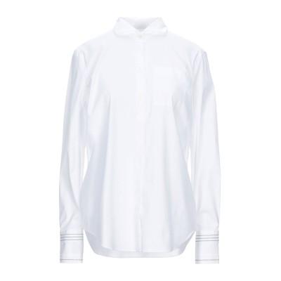 ブルネロ クチネリ BRUNELLO CUCINELLI シャツ ホワイト 3XL コットン 72% / ナイロン 23% / ポリウレタン 5%