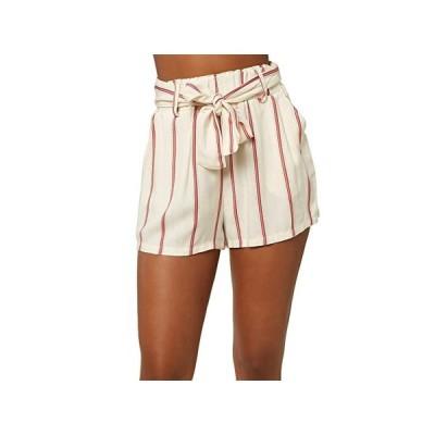 オニール Cameron Stripe Shorts レディース ショートパンツ ズボン 半ズボン Winter White