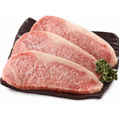 [鹿児島]黒毛和牛ロースステーキ がっつり食べたいステーキ