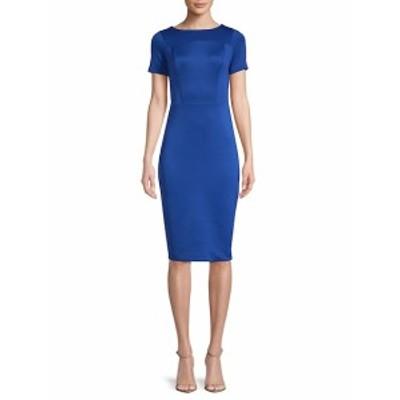 アレクシアアドモール レディース ワンピース Printed Scuba Sheath Dress