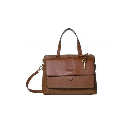 Fossil フォッシル レディース 女性用 バッグ 鞄 ハンドバッグ サッチェル Kinley Satchel Handbag - Brown