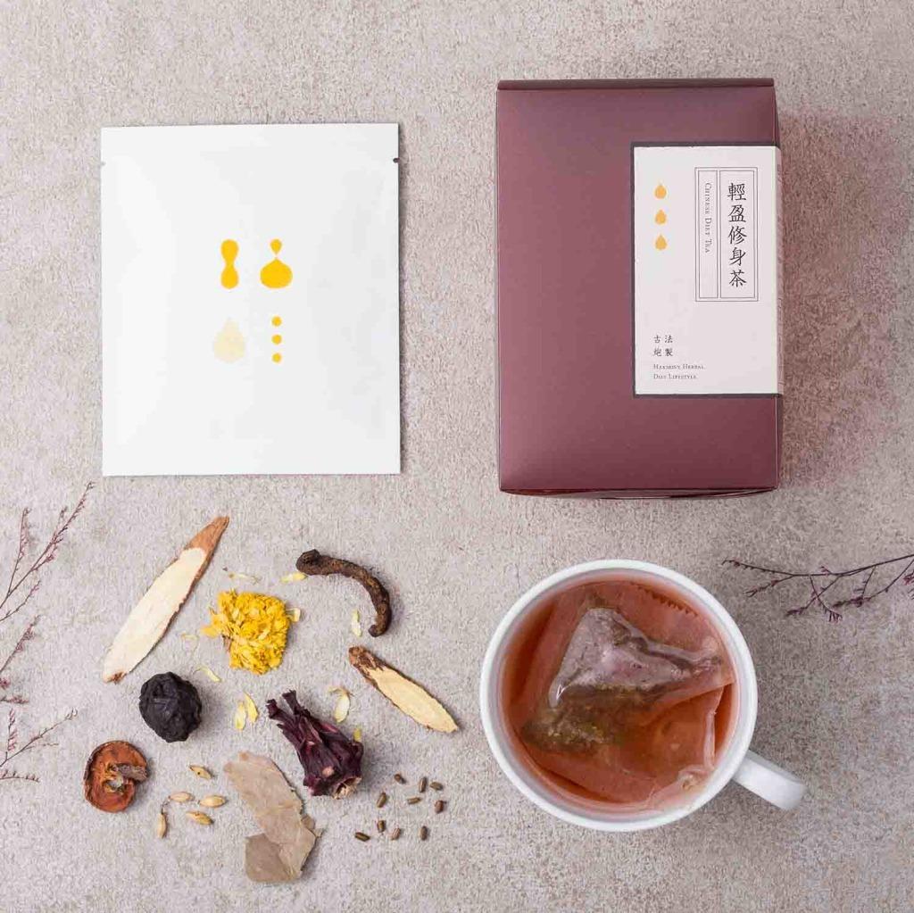【新譯漢方】輕盈修身茶(10包/盒)