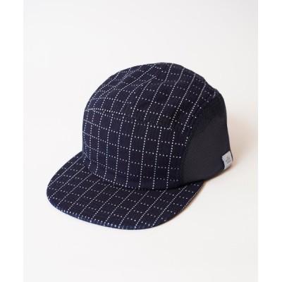 MIG&DEXI / SASHIKO MESH JET CAP サシコメッシュジェットキャップ MEN 帽子 > キャップ