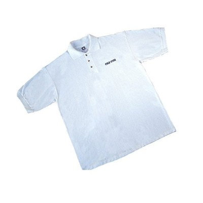 Cold Steel Polo Shirt, Medium, White
